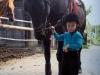 1993, im Alter von 3 Jahren